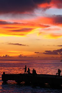 Sunset Soufriere St Lucia